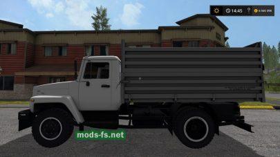 Мод самосвала ГАЗ-3309 для FS 2017