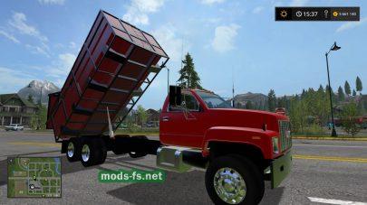 грузовик GMC самосвал для игры FS 2017