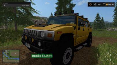 Hummer H2 для Farming Simulator 2017