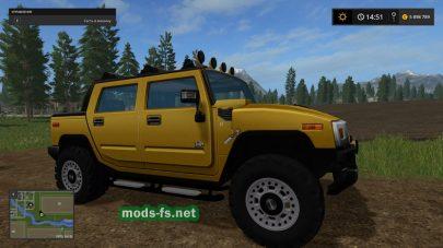 Мод на Hummer H2