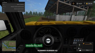 Hummer H2 для FS 2017