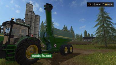 Мод прицепа «John Deere 650 — Grain Wagon» для FS 2017