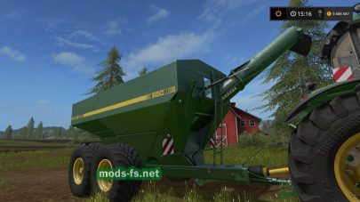 John Deere 650 — Grain Wagon