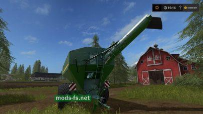 John Deere 650 — Grain Wagon mods FS 2017