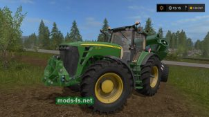 """JOHN DEERE 8530"" v2.1 для Farming Simulator 2017"