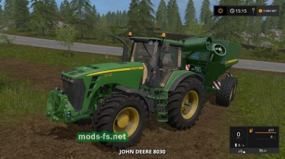 JOHN DEERE 8530 для FS 2017