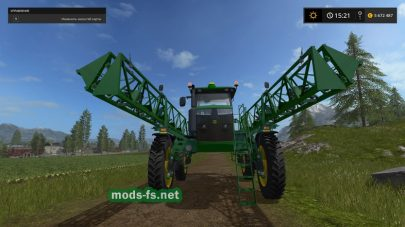 JOHN DEERE R4045 для Farming Simulator 2017
