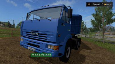 Мод КамАЗ 65116 для Farming Simulator 2017