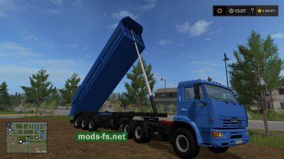Мод КамАЗ 65116 с прицепом