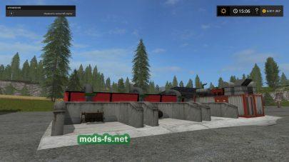 Кормосмесительная станция для Farming Simulator 2017