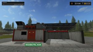 Станция для создания кормов в игре Farming Simulator 2017