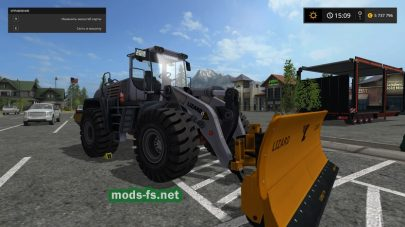 Lizard G520 Loader mods FS 2017