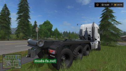 MAN TGS для Farming Simulator 2017