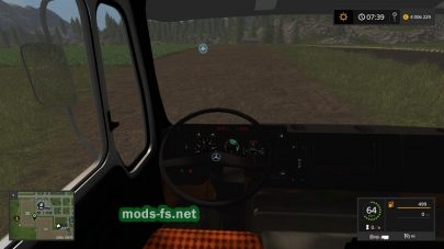 «Mercedes NG Kipper» для Farming Simulator 2017