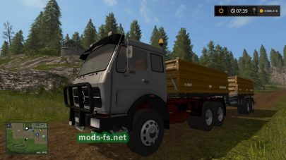 Мод грузовика Mercedes NG Kipper