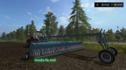 Мод большой сеялки для Farming Simulator 2017