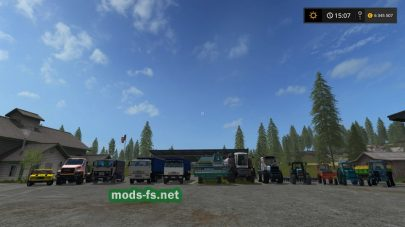 Modspack By User FS 2017