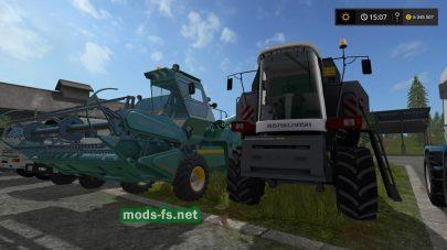 Пак комбайнов, тракторов, автомобилей для FS 2017