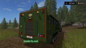 Мощная дробилка для Farming Simulator 2017