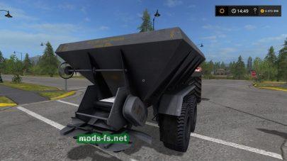 Мод «MVU8» для внесения удобрений в игре FS 2017