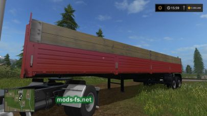 НЕФАЗ 9334 для Farming Simulator 2017