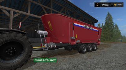 «Peecon Biga Mega Mammoet» для Farming Simulator 2017