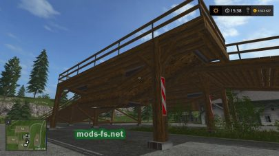 «Wald Rampe Double» для Farming Simulator 2017