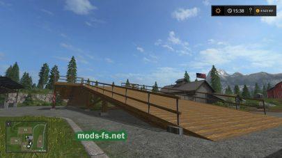 Мод платформы «Wald Rampe Double»