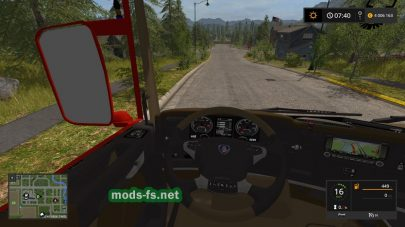 Scania P420 для Farming Simulator 2017