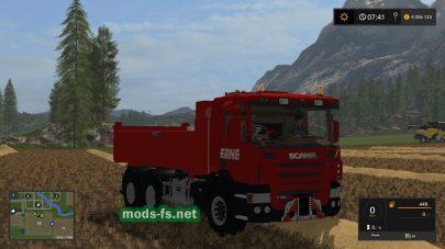 Мод на грузовик Scania P420