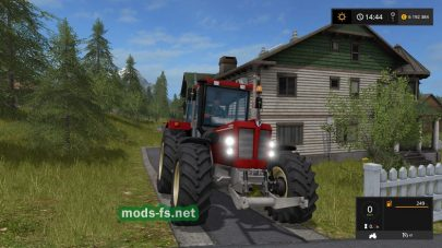 Мод трактора Schlueter 1500 TVL для Farming Simulator 2017