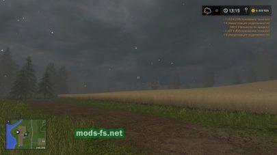 Мод Season Manager для Farming Simulator 2017