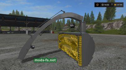 «Silage Cutter v1.0» для Farming Simulator 2017