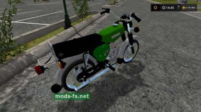 Мод на мотоцикл для Farming Simulator 2017