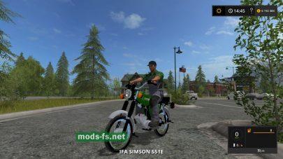 Мод мотоцикла SIMSON для FS 2017