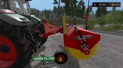 Sweeper Rabaud Supernet 2200A для Farming Simulator 2017