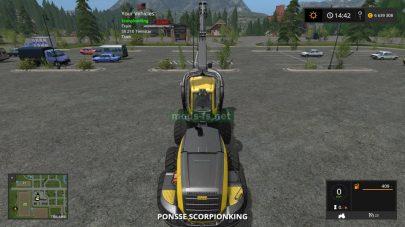 Быстрое переключение техники в Farming Simulator 2017