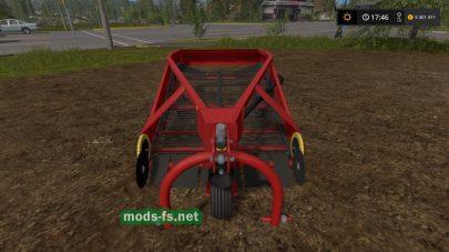 Установка для выкапывания картошки в Farming Simulator 2017