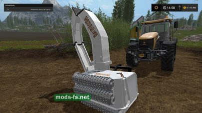 Wood Crusher V1.1 Fix для Farming Simulator 2017