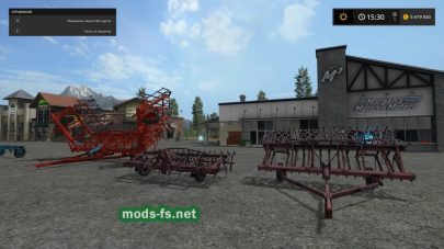 Мод пак русских культиваторов для Farming Simulator 2017