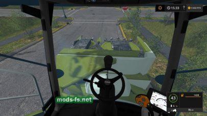 Claas Jaguar 800 With Orbis 750 для Farming Simulator 2017