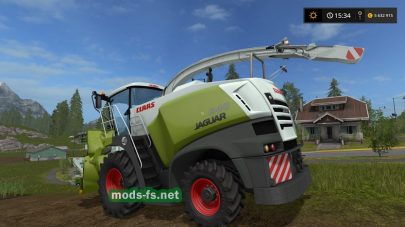 Мод комбайна Claas Jaguar 800 With Orbis 750