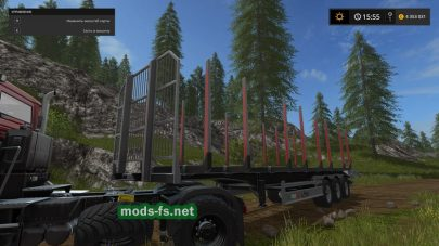 Fliegl Timber Runner With Auto Load Wood Script