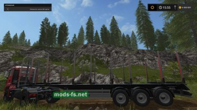 Мод Fliegl Timber Runner для FS 2017