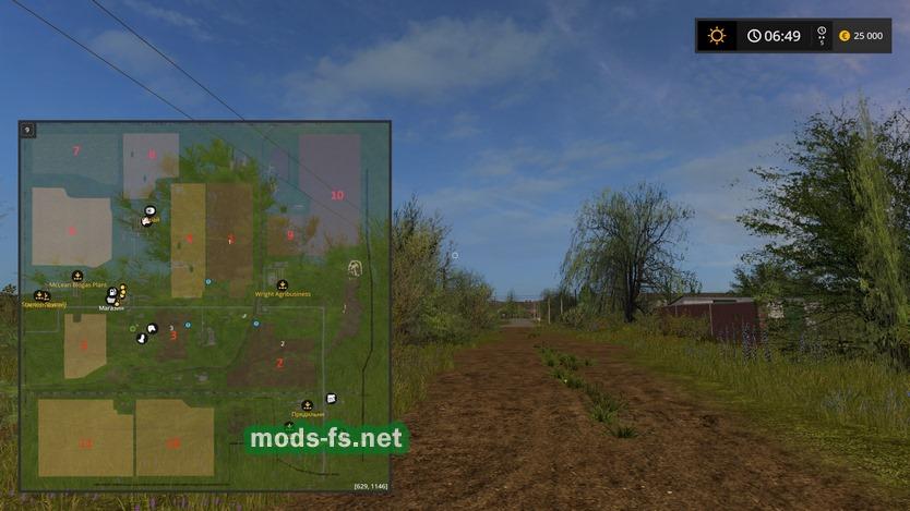 скачать моды для Farming Simulator 2017 на карту балдейкино - фото 8