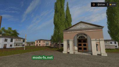Большая русская карта для Farming Simulator 2017