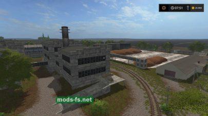 Разваленные заводы в игре