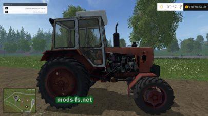 Мод трактора ЮМЗ-8271 для FS 2015
