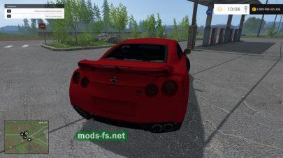 Скриншот мода NISSAN GTR
