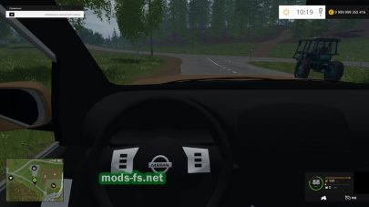 Мод Nissan Pathfinder v1.0 для Farming Simulator 2015